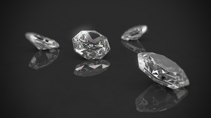 Diamanten Edelstein