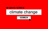 Climate Change Search poster