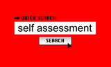 Self Assessment Search poster