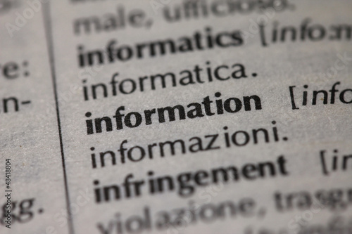 Dictionary Series - Information