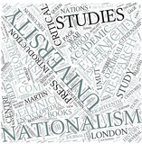 Nationalism studies Disciplines Concept