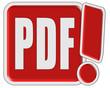 !-Schild rot quad PDF