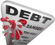 Debt Thermometer Deficit Rising Overspending Danger