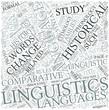 Historical linguistics Disciplines Concept