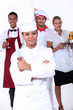 Catering professionals
