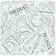 Communication design Disciplines Concept