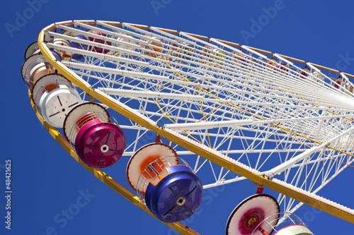 Grande roue, manège, fête foraine, forain, hauteur