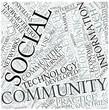Community informatics Disciplines Concept