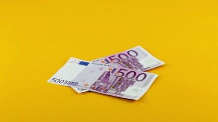 Fünfhundert Euro Banknoten