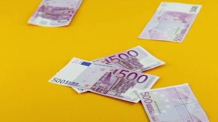 Fünfhundert Euronoten
