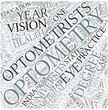 Optometry Disciplines Concept