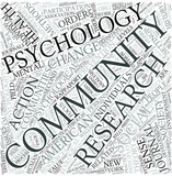 Community psychology Disciplines Concept