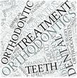 Orthodontics Disciplines Concept