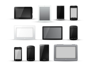 Tablet pc and mobile phone designs
