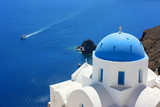 Grèce - Santorin (Eglise à Oia)