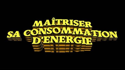 consommation energie