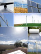 solar panels and windmills