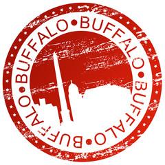 Stamp - Buffalo, USA