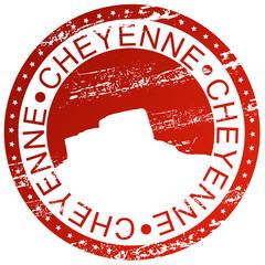 Stamp - Cheyenne, USA