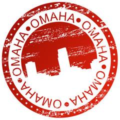 Stamp - Omaha, USA