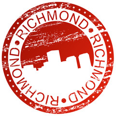 Stamp - Richmond, USA