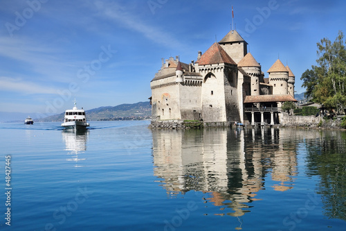 The Château de Chillon on Lake Geneva