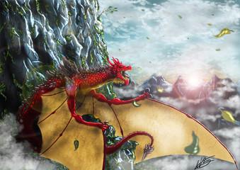La cima del dragón ronjo