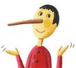 Leinwandbild Motiv Cute Pinocchio