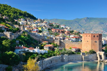 Bay of Alanya. Turkey