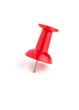 Roter Pin