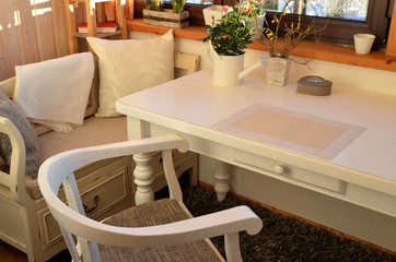 Shabby Chic weiße Möbel
