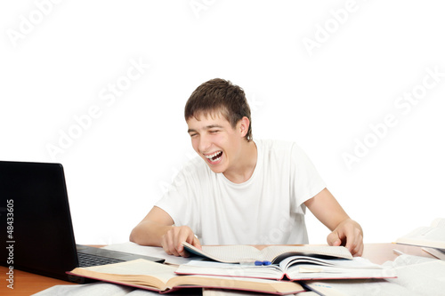 Student Laughing