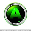 alphabet a logo abstact