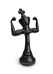 Masculine chess king