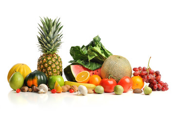 Fresh Fruits and Vegatables