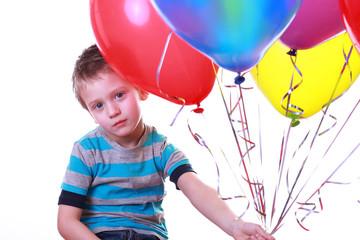 Kind und Luftballons 2