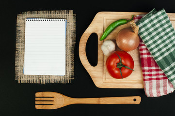 Notebook to write recipes