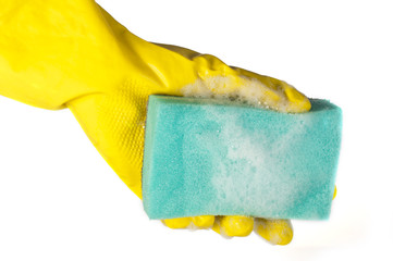 Sponge for washing dishes