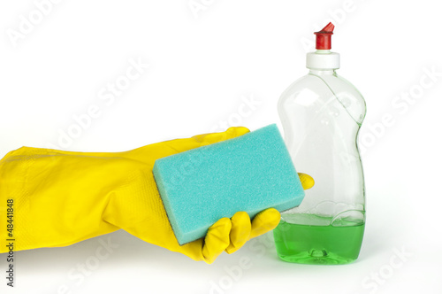 Sponge for washing dishes