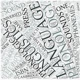 Phonology Disciplines Concept