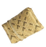 basket  in a natural fibers woven