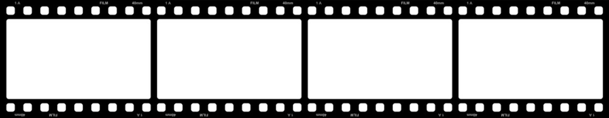 Filmstreifen 4x