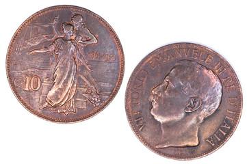 10 Cent. Vittorio Emanuele III
