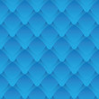 Geometric seamless pattern - blue scales