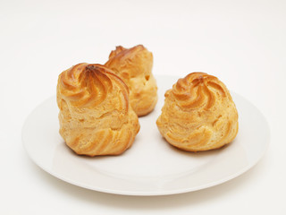 Choux pastry puffs