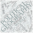 Political geography Disciplines Concept