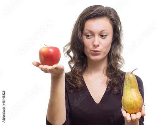 Äpfel und Birnen vergleichen