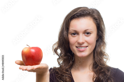 Eva with Apple