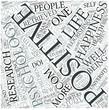 Positive psychology Disciplines Concept