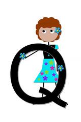 Alphabet Play Q